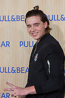 Brooklyn Beckham during the event of  Pull&beard brand at Naron, A Coruna. September 22, 2016. (ALTERPHOTOS/Rodrigo Jimenez) /NORTEPHOTO