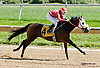 Oflee Worthy winning at Delaware Park on 9/25/13