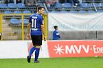 Waldhofs Giuseppe Burgio (Nr.11)  im Spiel SV Waldhof Mannheim - 1. FC Kaiserslautern II.<br /> <br /> Foto &copy; P-I-X.org *** Foto ist honorarpflichtig! *** Auf Anfrage in hoeherer Qualitaet/Aufloesung. Belegexemplar erbeten. Veroeffentlichung ausschliesslich fuer journalistisch-publizistische Zwecke. For editorial use only.