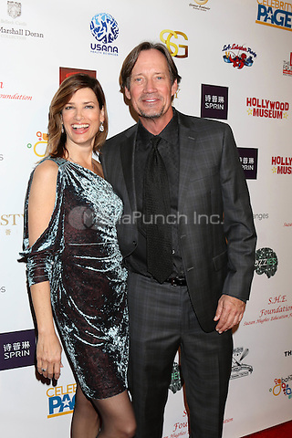 HOLLYWOOD, CA - FEBRUARY 26: Sam Sorbo, Kevin Sorbo at the Style Hollywood Oscar Viewing Party at the Hollywood Museum in Hollywood, California on February 26, 2017. Credit: David Edwards/MediaPunch