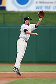 June 13th 2008:  Second baseman Taylor Harbin of the South Bend Silver Hawks, Class-A affiliate of the Arizona Diamondbacks, during a game at Stanley Coveleski Regional Stadium in South Bend, IN.  Photo by:  Mike Janes/Four Seam Images