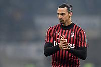 Zlatan Ibrahimovic of AC Milan <br /> Milano 09/02/2020 Stadio San Siro <br /> Football Serie A 2019/2020 <br /> FC Internazionale - AC Milan <br /> Photo Andrea Staccioli / Insidefoto