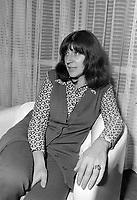 La Chanteuse francaise Anne Sylvestre en visite au Quebec<br /> , 5 octobre 1971<br /> <br /> Photo d'archive : Agence Quebec Presse  -  Photo Moderne<br /> <br /> Photo d'archive : Agence Quebec Presse  - Photo Moderne