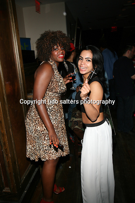 """MarieDriven and Gemini Dancing at """"RokStarLifeStyle"""" Celebrity Publicist MarieDriven Birthday Extravaganza Hosted by Jack Thriller & MTV Angelina Pivarnick Held at Chelsea Manor, NY"""