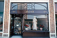 Venice CA: Art Nouveau Shopfront, Main St.  Photo '82.