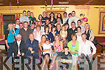 Christina Ring,seated third from left, from Templeglantine, celebrated her  21st  birthday with family and friends in Riordan's bar Abbeyfeale on Friday night..   Copyright Kerry's Eye 2008