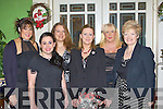 Carla Santos, Krystal Cronin, Maria Simon, Frances Quinn, Irene McCarthy and Susan Kelleher all dressed up for the Fexco social in the Dromhall Hotel Killarney on Saturday night