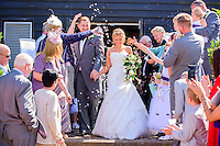 Confetti Celebrations at Knebworth Barns, Stevenage, Hertfordshire.