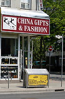 China Gift and Fashion store on Yonge and Maitland street in Toronto.<br />