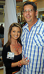 Tanya and Jeff Ellenberg at the M.D. Anderson Back-to-School Fashion Show at the Galleria Saturday Aug. 16, 2014.(Dave Rossman photo)