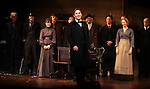 Richard Thomas and ensemble cast during the Broadway Opening Night Performance Curtain Call for  'An Enemy of the People' at the Samuel J. Friedman Theatre in New York. Sept. 27, 2012