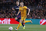 05.04.2016 Barcelona. Uefa Champions League Quarter-finals 1st leg. Game between FC Barcelona agaisnt Atletico de Madrid at Camp Nou. Picture show Andres Iniesta in action