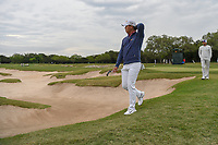 Si Woo Kim (KOR) heads for 15 during Round 2 of the Valero Texas Open, AT&T Oaks Course, TPC San Antonio, San Antonio, Texas, USA. 4/20/2018.<br /> Picture: Golffile | Ken Murray<br /> <br /> <br /> All photo usage must carry mandatory copyright credit (© Golffile | Ken Murray)