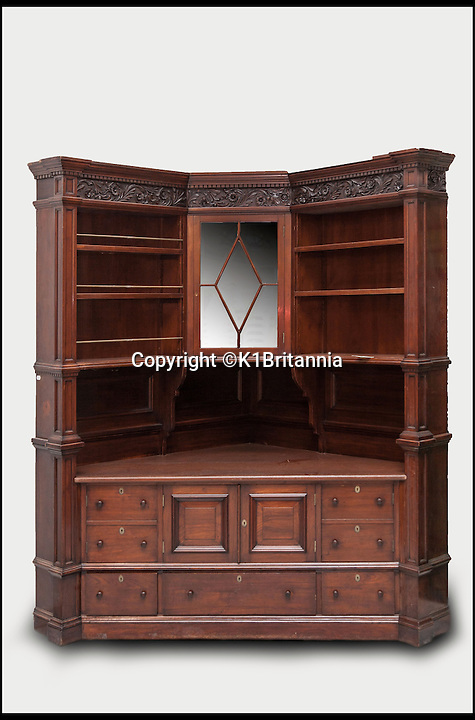 BNPS.co.uk (01202 558833)<br /> Pic: K1Britannia/BNPS<br /> <br /> ***Please Use Full Byline***<br /> <br /> An original corner cabinet that will be reinstalled into the Britannia. <br /> <br /> An 8 million pounds appeal has been launched to resurrect one of the most famous and best loved racing yachts of all time - the 'King's yacht' Britannia.<br /> <br /> The historic 177ft yacht was built for playboy prince Albert in 1893 and became an instant star of the sailing scene, winning 33 of 43 prestigious races  in her first year alone.<br /> <br /> The stunning Royal yacht became known the world over and enjoyed an illustrious racing career at the hands of Albert, who went on to become King Edward VII.<br /> <br /> Edward's son George V continued the love affair with Britannia, dubbed 'the King's yacht', so much so that on his death in 1936 she was deliberately sunk off the Isle of Wight.<br /> <br /> Now, 78 years on, campaigners are nearing the final stages of a project to complete an an inch-perfect replica of Britannia which has been 20 years in the making.<br /> <br /> The instantly recognisable hull is finished but around six million pounds is needed to transform it into a yacht worthy of Royalty. <br /> <br /> The yacht, which will cost an extra one million pounds a year to run, will then be taken all round the world so it can be enjoyed by charities and future generations.
