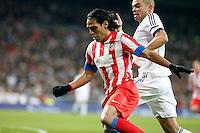Radamel Falcao and Pepe during La Liga Match. December 01, 2012. (ALTERPHOTOS/Caro Marin)