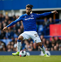 Andre Gomes of Everton during the Premier League match between Everton and West Ham United at Goodison Park on October 19th 2019 in Liverpool, England. (Photo by Daniel Chesterton/phcimages.com)<br /> Foto PHC/Insidefoto <br /> ITALY ONLY
