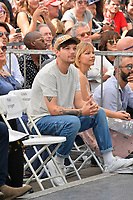 LOS ANGELES, CA. August 22, 2018: Louis Tomlinson at the Hollywood Walk of Fame Star Ceremony honoring Simon Cowell.