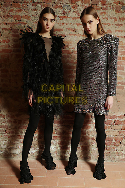 huge discount 3cb95 cdb61 Alberta Ferretti backstage at Milan Fashion Week | CAPITAL ...