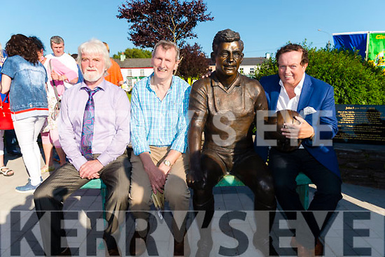 John Egan Memorial Launch in the Sneem last Saturday.<br /> Pictured l-r Tim O'Sullivan, David O'Dwyer and Marty Morryssey.