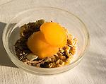 Cereal & Peaches, Les Etoiles Restaurant, Rome, Italy, Europe