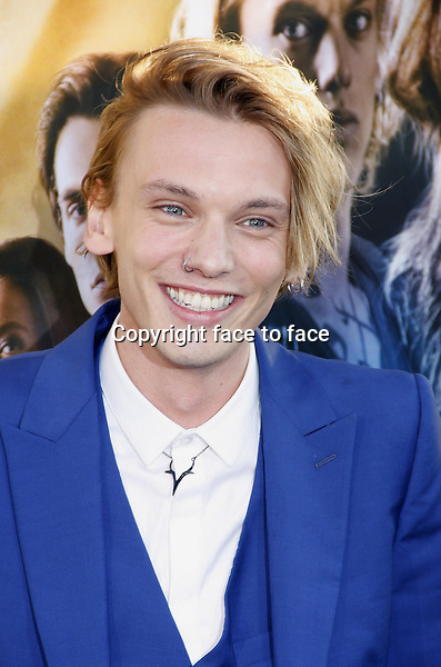 Jamie Campbell Bower at the Los Angeles premiere of &quot;The Mortal Instruments: City Of Bones&quot; held at the Cinerama Dome in Hollywood in Los Angeles, California, 12.08.2013.<br /> Credit: PopularImages/face to face