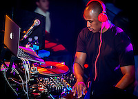 LAS VEGAS, NV - January 20 :  Ali Shaheed Muhammad performs at Body English at Hard Rock Hotel & Casino in Las Vegas, Nevada on January 20, 2013.  Credit: Kabik/Starlitepics/MediaPunch Inc. *** HOUSE COVERAGE*** /NortePhoto
