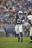 17 October 2009:  Penn State QB Daryll Clark (17) throws.  The Penn State Nittany Lions defeated the Minnesota Golden Gophers 20-0 at Beaver Stadium in State College, PA..