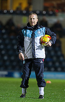 Wycombe Wanderers Assistant Manager Richard Dobson during the Sky Bet League 2 match between Wycombe Wanderers and Notts County at Adams Park, High Wycombe, England on 15 December 2015. Photo by Andy Rowland.