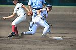 Hayato Nagano (Mie),<br /> AUGUST 25, 2014 - Baseball :<br /> 96th National High School Baseball Championship Tournament final game between Mie 3-4 Osaka Toin at Koshien Stadium in Hyogo, Japan. (Photo by Katsuro Okazawa/AFLO)8() vs 7 0