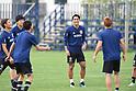 Soccer: Training session at Sapporo Soccer Amusement Park in Hokkaido