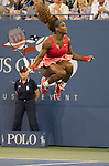 Serena Williams (USA) Takes Final Against Victoria Azarenka (BLR) In Three Sets At US Open