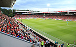 18.08.2019, Stadion an der Wuhlheide, Berlin, GER, 1.FBL, 1.FC UNION BERLIN  VS. RB Leibzig, <br /> DFL  regulations prohibit any use of photographs as image sequences and/or quasi-video<br /> im Bild Unionfans (1.FC Union Berlin)<br /> <br />      <br /> Foto © nordphoto / Engler