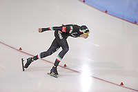 SCHAATSEN: SALT LAKE CITY: Utah Olympic Oval, 15-11-2013, Essent ISU World Cup, 1500m, Jan Daldossi (ITA), ©foto Martin de Jong