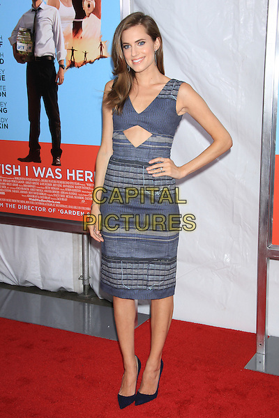 NEW YORK, NY - JULY 14: Allison Williams attends the New York Premiere of &quot;Wish I Was Here&quot; at the AMC Loews Lincoln Square Cinemas on July 14, 2014 in New York City<br /> CAP/LNC/TOM<br /> &copy;LNC/Capital Pictures