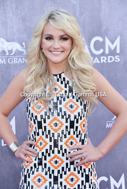 Jamie Lynn Spears 128 at the  ACM Awards 2014 at the MGM Grand in Las Vegas.