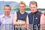 Enjoying the Killarney Lions Club triathlon on Saturday morning were Pat Grandfield, Arthur Fitzgerald and John Leniston.