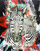 Marie, REALISTIC ANIMALS, REALISTISCHE TIERE, ANIMALES REALISTICOS, paintings+++++,USJO175,#A# ,Joan Marie, zebra