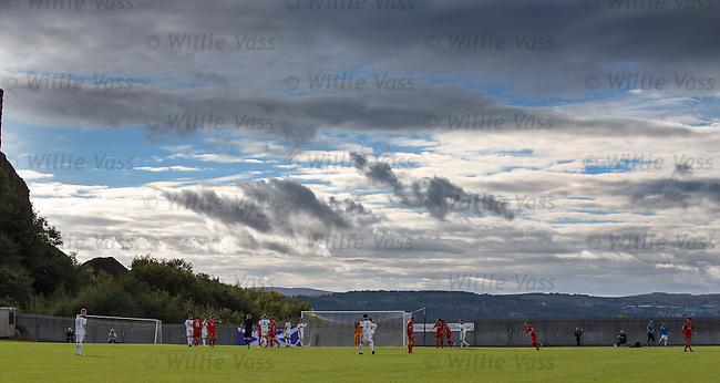 Dumbarton v Raith Rovers at the Bet Butler Stadium