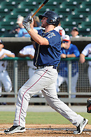 The Mobile BayBears third baseman Matt Davidson #36 swings at a pitch during  game four of the Southern League Championship Series between the Mobile Bay Bears and the Tennessee Smokies at Smokies Park on September 18, 2011 in Kodak, Tennessee.  The BayBears won the Southern League Championship 6-4.  (Tony Farlow/Four Seam Images)