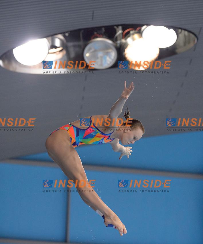 BAZHINA Nadezhda RUS Russia Gold Medal <br /> Team Event Final <br /> London, Queen Elizabeth II Olympic Park Pool <br /> LEN 2016 European Aquatics Elite Championships <br /> Diving  <br /> Day 01 20160509<br /> Photo Andrea Staccioli/Deepbluemedia/Insidefoto