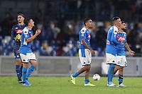 Napoli dejection<br /> Napoli 25-9-2019 Stadio San Paolo <br /> Football Serie A 2019/2020 <br /> SSC Napoli - Cagliari SC<br /> Photo Cesare Purini / Insidefoto