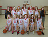Coquille Middle School 7th  Girls Basketball Team Pics