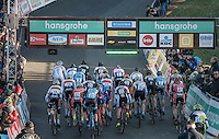 elite men's start (not many starters)<br /> <br /> 2016 CX Superprestige Spa-Francorchamps (BEL)