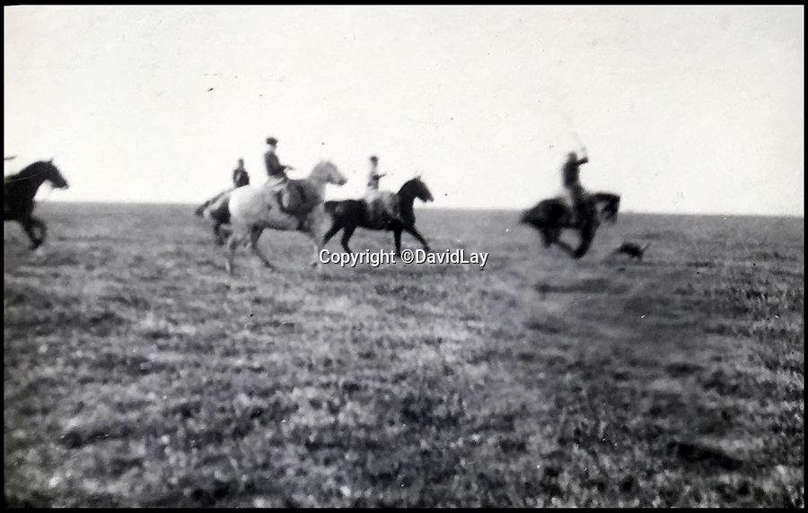 BNPS.co.uk(01202 558833)<br /> Pic: DavidLay/BNPS<br /> <br /> Polo out on the Pampas.<br /> <br /> A rare photo album which documents the historic first British Lions' tour to Argentina in 1910 has been unearthed, and it shows rugby players were no strangers to a bit of mischief back then.<br /> <br /> The fascinating photos capture what went on both on and off the pitch as a squad of 16 English and three Scottish players embarked on a six match tour of the country culminating in a historic test match with Argentina.<br /> <br /> It was Argentina's first ever test match and the Lions emerged 28-3 winners in a game played at a polo ground in Buenos Aires.<br /> <br /> The photos capture the vibrant social side of the tour as the rugby players were not afraid to let their hair down.