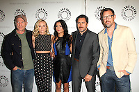 """LOS ANGELES - JUN 24:  Ted Levine, Diane Kruger, Emily Rios, Demian Bichir, Matthew Lillard at the """"The Bridge"""" Screening & Panel Discussion at the Paley Center For Media on June 24, 2014 in Beverly Hills, CA"""