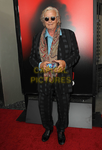 Rutger Hauer<br /> HBO's &quot;True Blood&quot; Season 6 Premiere Held At ArcLight Cinemas Cinerama Domee, Hollywood, California, USA.<br /> June 11th, 2013<br /> full length suit check black blue shirt red paisley scarf sunglasses shades <br /> CAP/ADM/KB<br /> &copy;Kevan Brooks/AdMedia/Capital Pictures