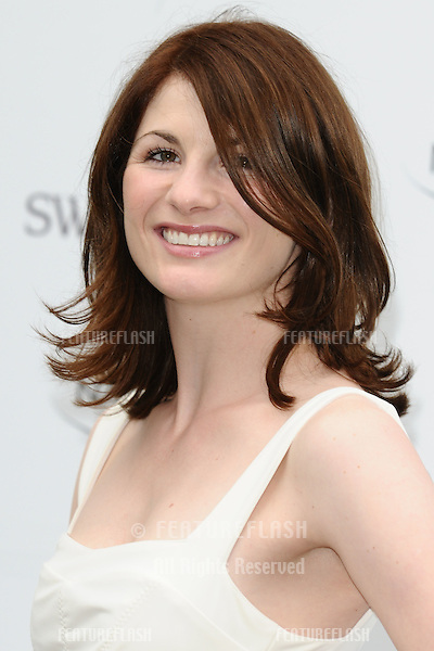 Jodie Whittaker arriving for the English National Ballet's summer party, Kensington Palace Orangery, London. 27/06/2012 Picture by: Steve Vas / Featureflash