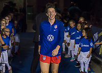 CHARLOTTE, NC - OCTOBER 3: Andi Sullivan #25 of the United States walks out during a game between Korea Republic and USWNT at Bank of America Stadium on October 3, 2019 in Charlotte, North Carolina.