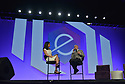 MIAMI BEACH, FL - APRIL 24: Global Markets Reporter CNBC Seema Mody and Musician, Entrepreneur Armando Christian 'Pitbull' Perez attend eMerge Americas 2018 -day2 KEYNOTE : Startup Showcase Grand Finale at Miami Beach Convention Center on April 24, 2018 in Miami Beach, Florida.  ( Photo by Johnny Louis / jlnphotography.com )