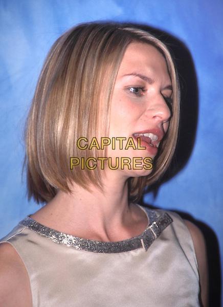 CLAIRE DANES.www.capitalpictures.com.sales@capitalpictures.com.© Capital Pictures.headshot, portrait, bow detail